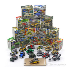 Wholesale Particle Model - Kai Chi small particles assembled blocks early childhood education children's toys military model educational toys manufacturers kinder