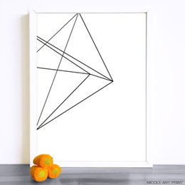 Wholesale Geometry Pictures - Wholesale Geometry Abstract Picture Minimalism Art Canvas Painting Modern Wall Picture Print Home Living Room Decoration