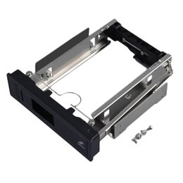 Hdd 3.5 онлайн-Wholesale- New SATA HDD-Rom Hot Swap Internal Enclosure Mobile Rack For 3.5 inch HDD