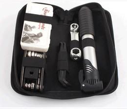 Wholesale Bike Repair Tool Kit Pump - Bicycle repair kit tyre pump repair wrench set mountain bike combination tool