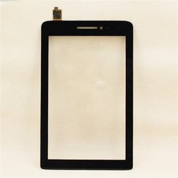 """Wholesale Tablet Replacement Screen Lenovo - For 7"""" Lenovo S5000 Tablet Front Outter Touch Screen Panel Digitizer Glass Lens Sensor Repair Parts Replacement +Tools"""