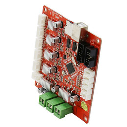 Motherboard controle on-line-Freeshipping Atualizado Impressora 3D Motherboard Controle para Controle de Impressora Anet V1.0 Reprap Mendel Prusa para anet A8