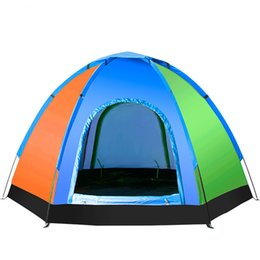 Wholesale Camouflaged Person Tent - Wholesale- Wnnideo Camping Tent, Portable Folding Waterproof Outdoor Tent for Hiking Climbing Dome Durable Camping for 1-3 Person