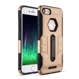Wholesale Iphone Case Warrior - Amzer Impact Resistant Hybrid Warrior Case for iphone 5 5s 5SE 6 6s 6splus 7 7plus 8 with Dual Layer Soft TPU case