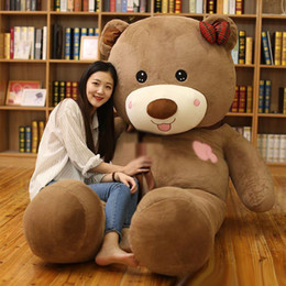 Wholesale Teddy Bear Cartoon Love - New style Lifesize fat lover bears cuddly soft cartoon bear Valentine's gift decoration love choose 200cm 78inch