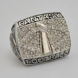 football fantastique Promotion Livraison gratuite haute qualité bijoux de sport fantaisie football Bague pour hommes comme cadeau de fête.