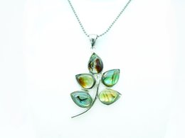 Wholesale Abalone Jewelry Making - 5 pcs Wholesale or retail natural abalone shell DIY jewelry making flower pendant, ladies exquisite pendant necklace