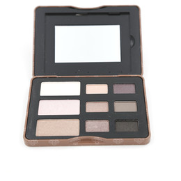 Wholesale Eye Shadow Palette Smoked - Makeup Palette Cosmetics Set New The Shade For Eyes 1pcs 9 Color Smoked Palette Eyeshadow Palette Brand Makeup Kit Eye shadow