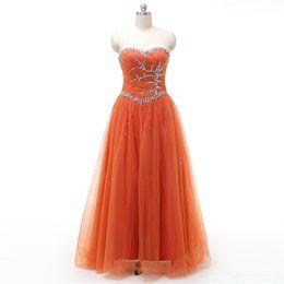 Wholesale Cheap Real Gold China - Sweetheart Dress 2017 Free Shipping Vestidos Longos Para Festa Cheap Long Tulle Evening Dresses Made in China