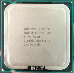 Wholesale Cpu Socket Lga 775 - Free Shipping Desktop For Intel Core 2 Duo E8400 CPU Processor ( 3.0Ghz   6M   1333GHz ) Socket 775