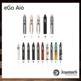 Wholesale Joyetech eGo AIO Kit With ml Capacity mAh Battery Anti leaking Structure and Childproof Lock All in one style Device Original