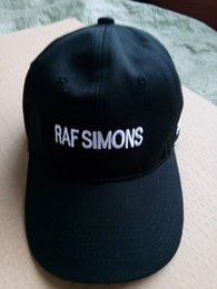 Wholesale Raf Cap - New 2017 Almost Famous hat Raf Simons Snapback baseball cap Trapsoul Single For The NIght caps VETEMENTS hats Free Shipping bone gorras swag