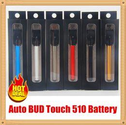 Wholesale Colorful Vaporizer Pen - Top quality Top quality Colorful O pen vape bud touch battery CE3 280mAh e cig 510 thread e cigarettes for wax oil cartridge vaporizer batte
