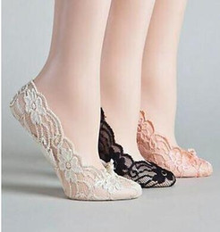 Wholesale Shoe Dance Sock - 2017 Cheap White Champagne Black Lace Wedding Shoes Bridal Socks Dance Shoes For Wedding Activity Socks Bridal Shoes