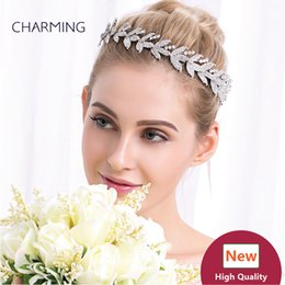 Wholesale China Shipping Online - leaf hair accessories headband crystal hair accessories online shop hair accessories for brides china wholesale suppliers free shipping