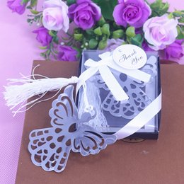 Wholesale Personalized Baby Shower Decorations - Wholesale- 10PCS Angel Bookmark personalized wedding favors and gifts baby girl boy shower decorations event party supplies souvenir