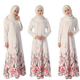 Wholesale Dresse For Women - Islamic Muslim Dresses For Women Long Dresses For Girls Malaysia Abayas Turkish Ladies Clothing Women Muslim Dresse