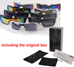 Wholesale Popular Pink Glass - Hot SALE Brand Sunglasses men women Popular Wind Cycling Mirror Sport Outdoor Eyewear Goggles Sun glasses 36968 sunglass with Original box