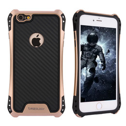 Wholesale Purple Iphone Case Rubber - Caseology Case For Iphone X Cases Hybrid Armor Case For Samsung S8 Note Rubber Shockproof Combo Carbon Fiber Case BackCover OPP Package