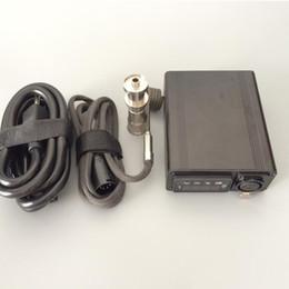 Kit digital enail on-line-Cera de fumar Original e-prego kit aquecedor bobina elétrica enail dab caixa de controle de temperatura com tela digital de titânio prego dispositivo aquecedor dnail