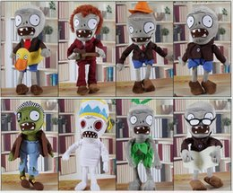 Wholesale Anime Dolls For Sale - 30CM 12'' Plants vs Zombies Soft Plush Toy Doll Game Figure Statue Baby Toy for Children Gifts Party toys Hot sales