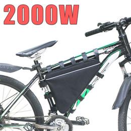 Wholesale Electric Bike Kits Battery - 52V 30AH 2000W Electric Bike Triangle Battery Pack 51.8V 30Ah lithium battery 14S for Bafang 8FUN BBSHD Ebike motor kit
