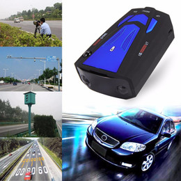 Wholesale Auto Scanning - V7 Car Radar Detector 360 Degree 16 Band Scanning LED Display Auto Detectors English  Russian Voice Alert Warning Blue Red Free Shipping