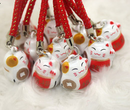 Wholesale Phone Charms Characters - Hot sale 300pcs cartoon bells Party Gift exquisite mobile phone bags accessories anime characters pendants creative gifts free shipping 0031