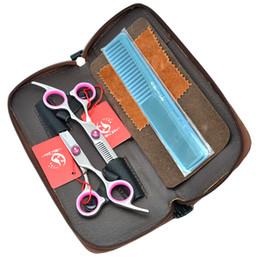 Wholesale Used Hair Scissors - 6.0Inch Meisha Barber Scissors Set Hair Cutting Scissors & Thinning Shears JP440C Professional Hairdressing Scissors for DIY Used, HA0113