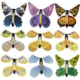 Wholesale Fly Change - New magic butterfly flying butterfly change with empty hands freedom butterfly magic props magic tricks z071-1