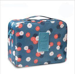 Wholesale Travel Kit Bags Men - 12 Colors Neceser Zipper new Man Women Makeup bag Cosmetic bag beauty Case Make Up Organizer Toiletry bag kits Storage Travel Wash pouch