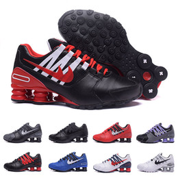 Wholesale Crystal Lace Shoes - 2017 Newest men shoes shox avenue 803 crystal casual women air turbo designer sneakers black white running walk red bottoms trainer 36-44