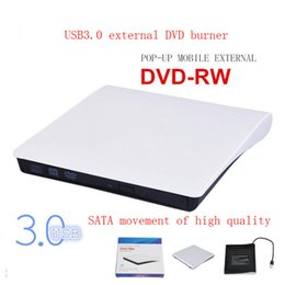 Wholesale Dvd Combo Drive Laptop - USB3.0 Portable External Slim DVD-RW CD-RW Burner Recorder Optical Drive CD DVD ROM Combo Writer support windows10 With Retail Box