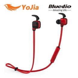 Wholesale Iphone Earbuds Remote Control - Bluedio CCK Bluetooth Wireless Earbuds Sports Headset BlueTooth Earphone with Microphone with remote control for iPhone Xiaomi LG Huawei