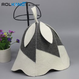 Wholesale Hat Made China - Wholesale- hat made in China for sauna head circumference size 70cm