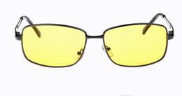Wholesale Motor Fishing - Quality Wholesale 20Pcs Lot Polarized Sunglasses Metal Frame Motor Cycle Driving Sunglass Polarizing Lens With Optical Frame Fishing Eyewear