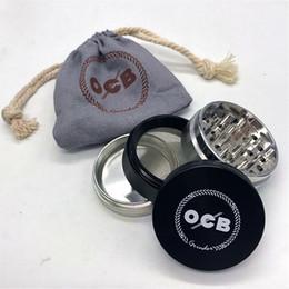 Confezione in lega online-Smerigliatrice per erba ock 50mm KKDUCK in confezione regalo e sacchetto in lega di alluminio di alta qualità