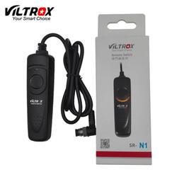 Wholesale Cable Remote Shutter Camera - Viltrox SR-N1 1M Camera Remote Control Shutter Release Cable for Nikon D810 D800 D700 D300 D200 D3S D300S D3X D3 D4 D5