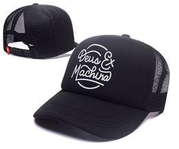 sombrero negro ovo Rebajas ¡Para estrenar! Deus Ex Machina Baylands Camionero Snapback Hombres Mujeres Bboy Girls Malla Sombrero Deportivo Hiphop God Pray Ovo Cap Negro