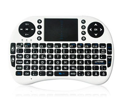 Wholesale Multi Media Keyboards - PC Wireless Keyboard i8 keyboards Fly Air Mouse Multi-Media Remote Control Touchpad Handheld for TV BOX Android