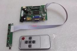 Wholesale Ttl Vga - Wholesale-AT070TN92 90 94 HDMI VGA 2AV 50PIN TTL LVDS Controller Board Module Monitor Kit for Raspberry