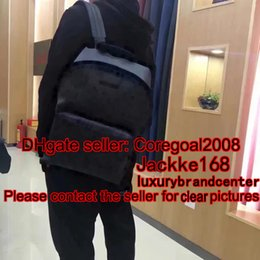 Wholesale Models American - black flower APOLLO BACKPACK mens travel bag many more models and products please contact us