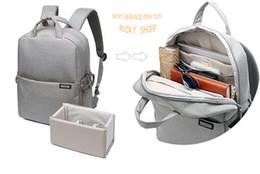 Wholesale Caden Bags - CADeN DSLR Camera Bags Video Photo Digital Camera Backpacks Waterproof Fashion School Travel Bag For Dslr Sony Canon Nikon L5