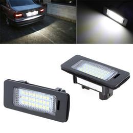 Wholesale Bmw E82 - Error Free Car Led License Plate Led Light Lamp 12v White 6000K For BMW E39 E60 E82 E90 E92 E93 M3 E39 E60 E70 X5 E60 E61 M5 E88
