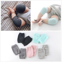 Wholesale Ankle Sock Baby Slip - 6-24 Month New baby leg warmers crawling ankle sock summer baby kneepad slip-resistant knee leg cover baby socks