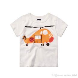 ropa para nios nias camisetas nios tops nios ropa juego helicptero casual casual alta calidad nios tops manga corta