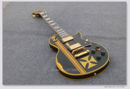 Wholesale Eclipse Custom Shop - Custom Shop Vintage Black Eclipse Electric Guitar guitars from china Free shipping