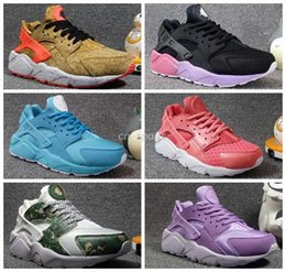 Wholesale Womens Red Glitter Flats - 2017 Air Huarache 1 I Running Shoes For Women, Customise Ultra Sneakers Triple womens Huaraches Athletic Trainers huraches Sport Shoes