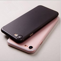 Wholesale Wholesale Luxury Bags - Ultra Thin Luxury 360 Degree Full Body Protection Matte PC Cover Case For iPhone 7 6 6s 6 plus OPP BAG