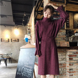 Wholesale Time Korea Fashion - Spring Clothes Korea Chic Easy High Lead Restore Ancient Ways Long Sleeve Jacket Half-body Skirt Twinset Leisure Time Fashion Suit Woman